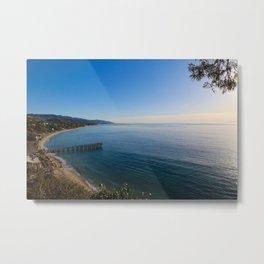 Paradise Cove Pier Metal Print