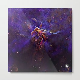ALTERED Hubble 20th Anniversary Metal Print