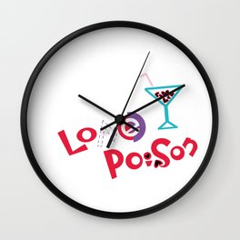 Love Poison 002 Wall Clock