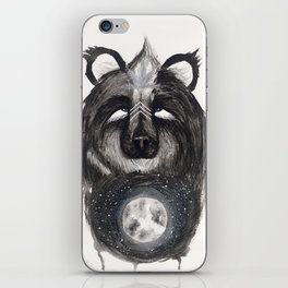 Selene the Moon Bear. iPhone Skin