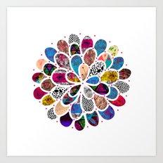 Mystic Flower ii Art Print