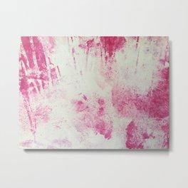 Abstract Printmaking #1 Metal Print
