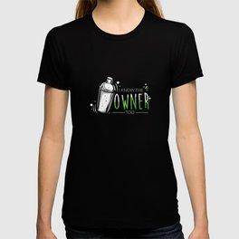 Bartender Party Cocktail Shaker Pun T-shirt
