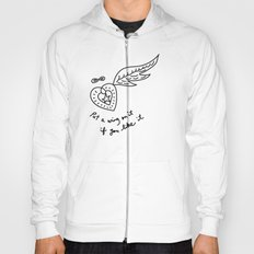 put a wing on it Hoody