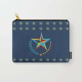 Preppy Star Carry-All Pouch