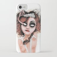 rocky horror iPhone & iPod Cases featuring Untitled III by Rouble Rust