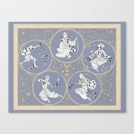 Amino Acid Horoscope - Overlay Canvas Print