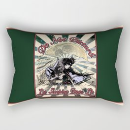 Let Sleeping Dogs Lie Rectangular Pillow
