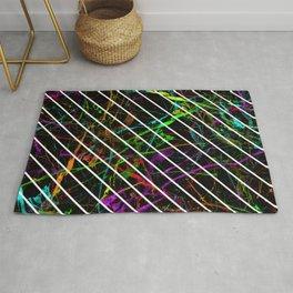 Neon Marble Rug