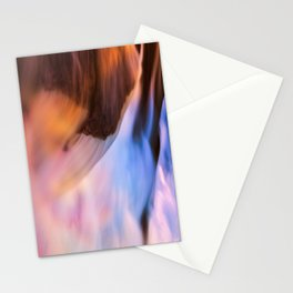 Stream of Swallowed Colors Stationery Cards