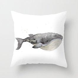 Whale 1 Throw Pillow