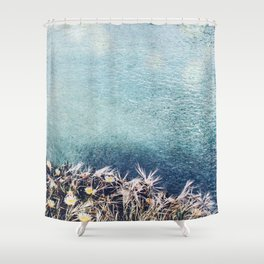 Coastal Spring Shower Curtain