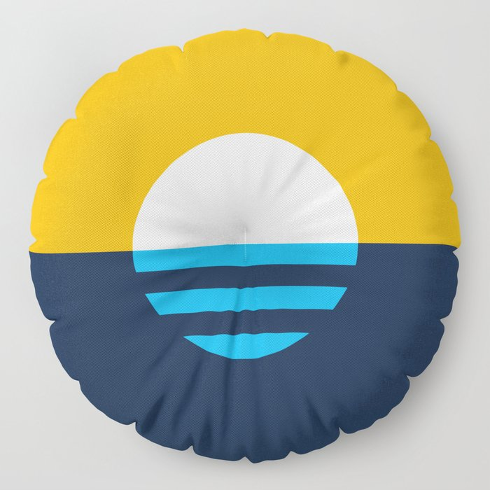 The People's Flag of Milwaukee Floor Pillow