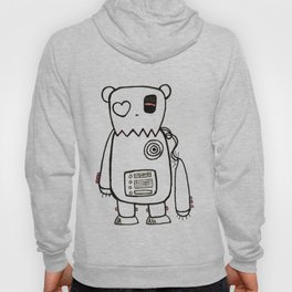 robo bear Hoody