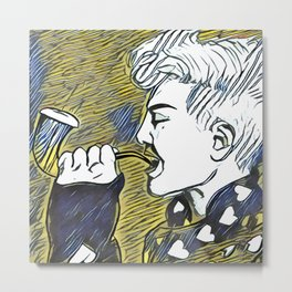 G Dragon Metal Print