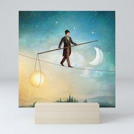 Between Night and Day Mini Art Print