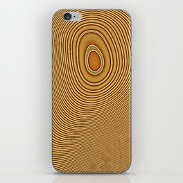Tree Rings 2 iPhone Skin