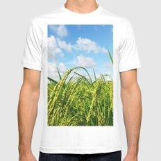 Ripe Rice Mens Fitted Tee White MEDIUM