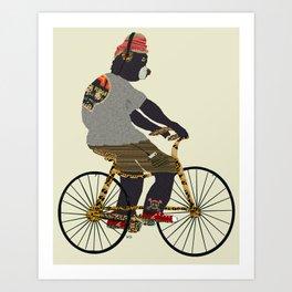 fudge bear Art Print