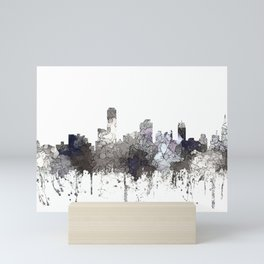 Adelaide, South Australia Skyline - CRISP Mini Art Print