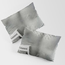 Pack of Parliament's, Bare Midriff black and white photograph / photography Pillow Sham