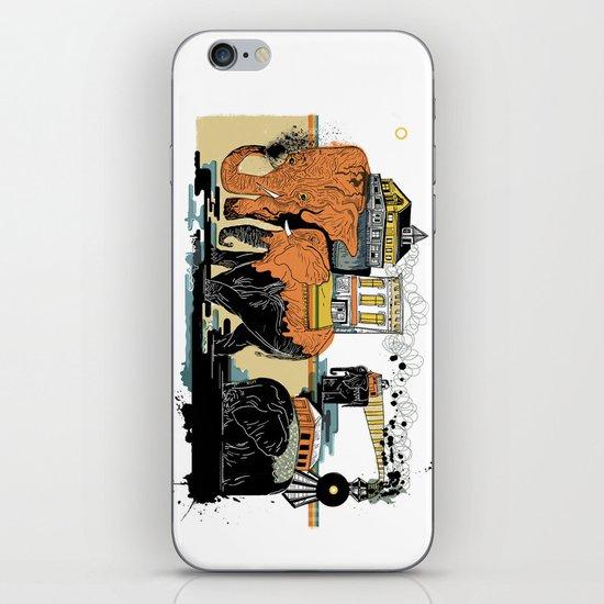 Oiliphants iPhone & iPod Skin