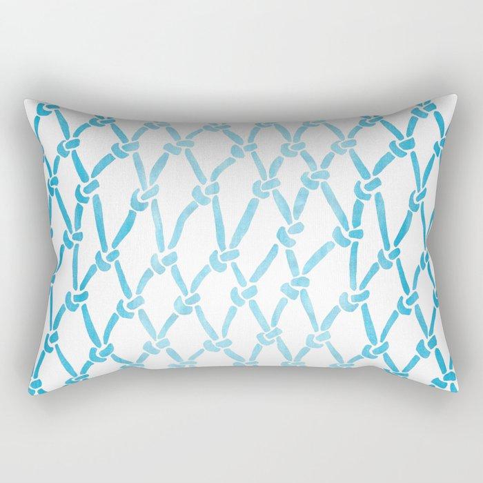 Net Water Rectangular Pillow