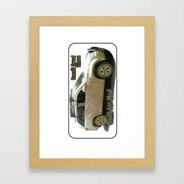 Muddy Zook Suzuki Grand Vitara Framed Art Print
