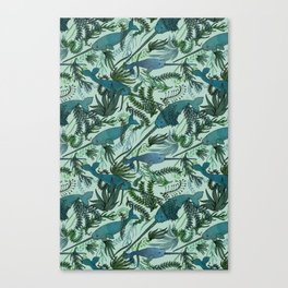 Narwhals Canvas Print