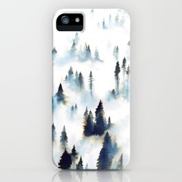 Morning Fog iPhone Case