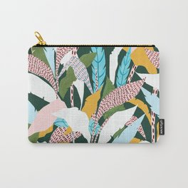 Fragmented Jungles Carry-All Pouch