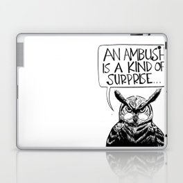 Said Owl Laptop & iPad Skin