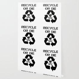 Recycle Black Wallpaper