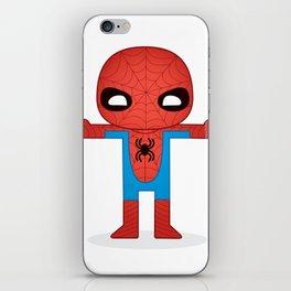 SPIDER MAN ROBOTIC iPhone Skin