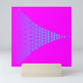 Hexagon ! Pattern Mini Art Print
