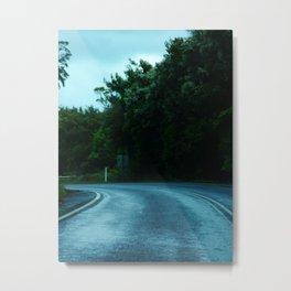 Dangerous Roads Metal Print