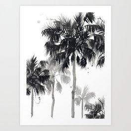 Paradis Noir III Art Print