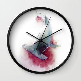 hammerhead shark Wall Clock