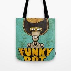 FunkyBot Tote Bag