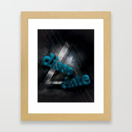 disso/ciate Framed Art Print