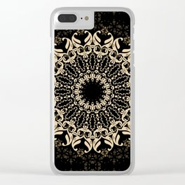 A sultry night. Clear iPhone Case