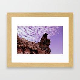 Stone Dragon Framed Art Print