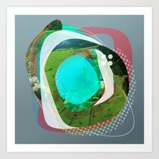 the abstract dream 2 Art Print