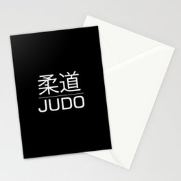 Judo for life Stationery Cards