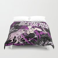 scorpio Duvet Covers featuring SCORPIO by Chandelina