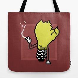 Pixel QOTSA Bulb Tote Bag