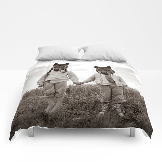Sister and Brother Comforters
