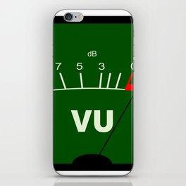 Audio VU Meter iPhone Skin