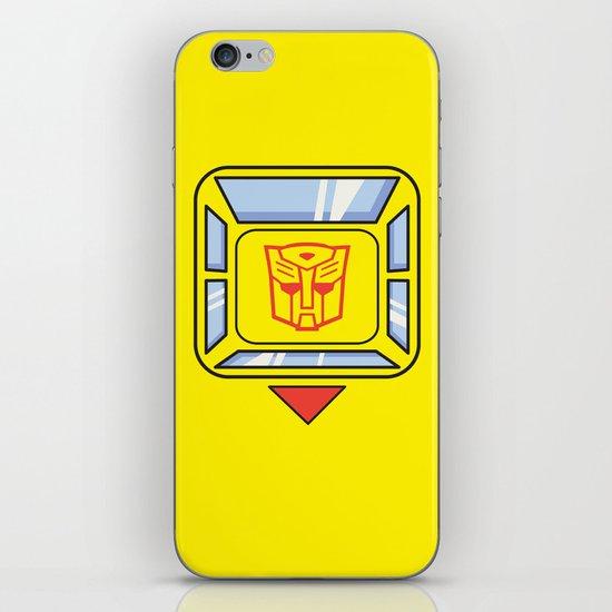 Transformers - Bumblebee iPhone & iPod Skin