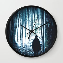 The Ice Man (Color) Wall Clock